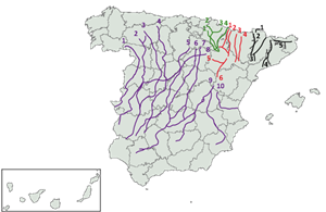 Cañada Real - By Diotime [Public domain], via Wikimedia Commons