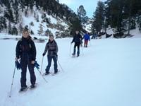 2 días de raquetas de nieve en el Parque Nacional de Aigüestortes