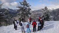 Excursiones invernales con raquetas de nieve en el Pirineo Aragonés