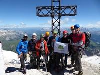 Alta Via 2, Dolomitas. Ascenso a la Marmolada