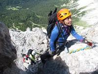 Dolomitas. Ferratas para iniciados en los Alpes Italianos
