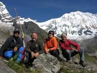 Trekking al santuario de los Annapurnas