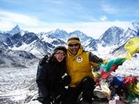 Trekking al Campo Base del Everest y lagos de Gokio