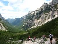 Senderismo en los Alpes Julianos