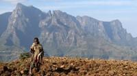 Trekking en las montañas de Simien