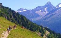 ALPES Senderismo, Valle de Chamonix